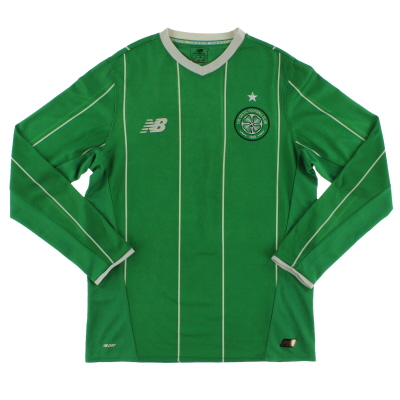 2015-16 Celtic Away Shirt L/S S