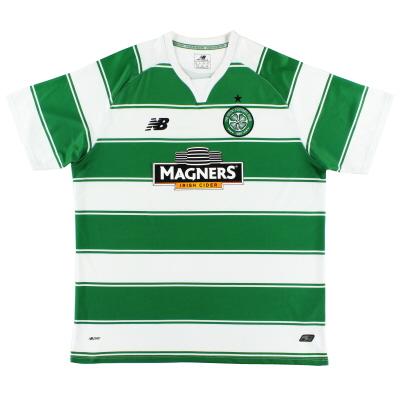 2015-16 Celtic Home Shirt XL