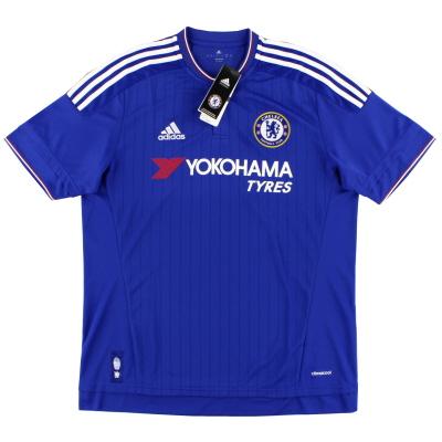 2015-16 Chelsea adidas Home Shirt *BNIB* S