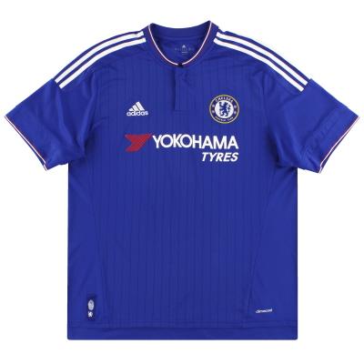 2015-16 Chelsea adidas Home Shirt L