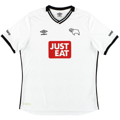 2015-16 Derby County Umbro Home Shirt L
