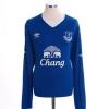 2015-16 Everton Home Shirt Lukaku #10 L/S *Mint* XL