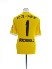 2015-16 FC 08 Homburg Match Issue Goalkeeper Shirt Buchholz #1 L