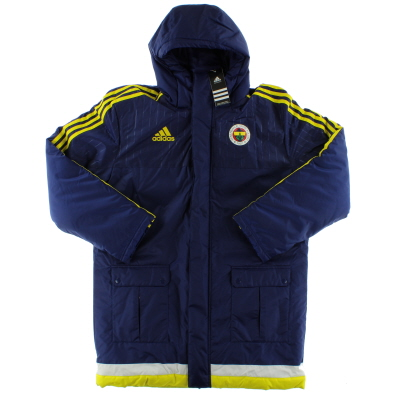 2015-16 Fenerbahce Player Issue adidas Padded Bench Coat *BNIB*