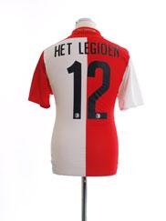 2015-16 Feyenoord Home Shirt Het Legioen #12 M