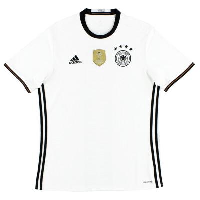 2015-16 Germany adidas Home Shirt L