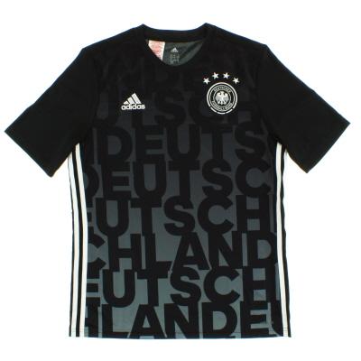 2015-16 Germany adidas Training Shirt *Mint* Y