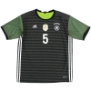 2015-16 Germany Away Shirt Hummels #5 XL