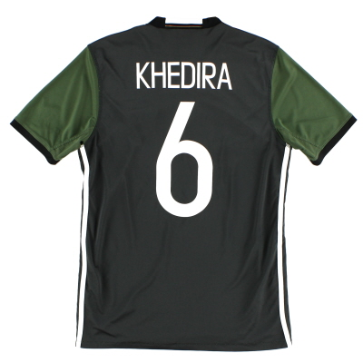 2015-16 Germany Away Shirt Khedira #6 S