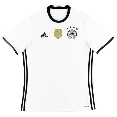 2015-16 Germany Home Shirt *Mint* L