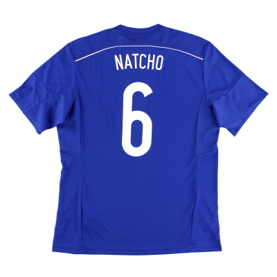 2015-16 Israel Home Shirt Natcho #6 *w/tags*