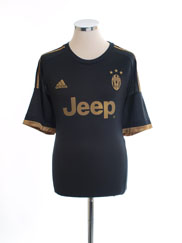 2015-16 Juventus Third Shirt *Mint* XL