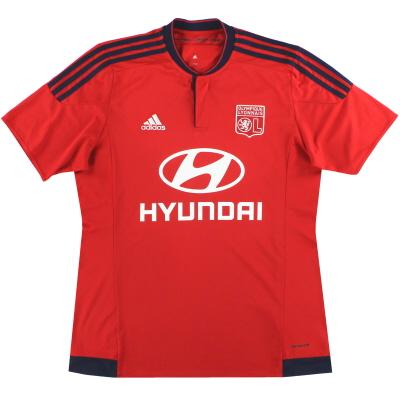 2015-16 Lyon adidas Away Shirt L