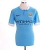 2015-16 Manchester City Home Shirt Aguero #10 S
