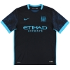 2015-16 Manchester City Nike Away Shirt De Bruyne #17 M