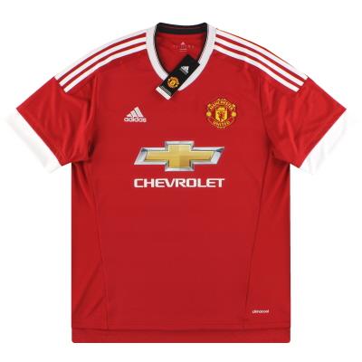 2015-16 Manchester United adidas Home Shirt *BNIB*