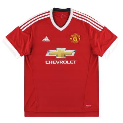 2015-16 Manchester United adidas Home Shirt XXXL