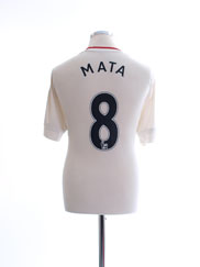 2015-16 Manchester United Away Shirt Mata #8 L