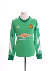 2015-16 Manchester United Goalkeeper Shirt *BNIB*
