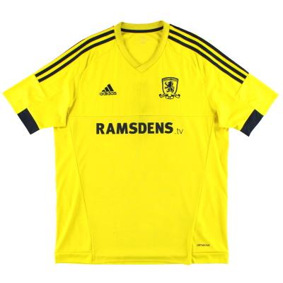 2015-16 Middlesbrough adidas Away Shirt L