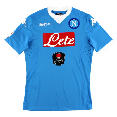 2015-16 Napoli Kombat Home Shirt *Mint* XXL