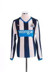 2015-16 Newcastle Home Shirt L/S S