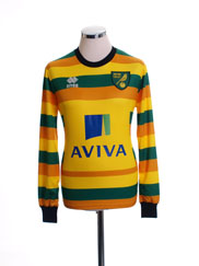 2015-16 Norwich City Third Shirt *BNIB* L/S
