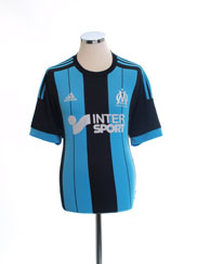 2015-16 Olympique Marseille Away Shirt L