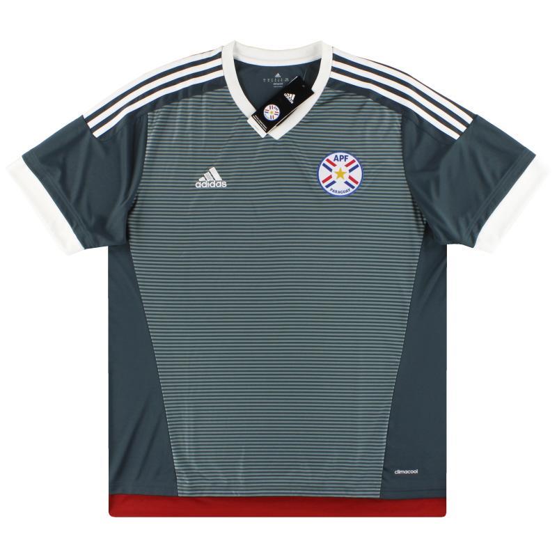 2015-16 Paraguay adidas Copa America Away Shirt *BNIB*