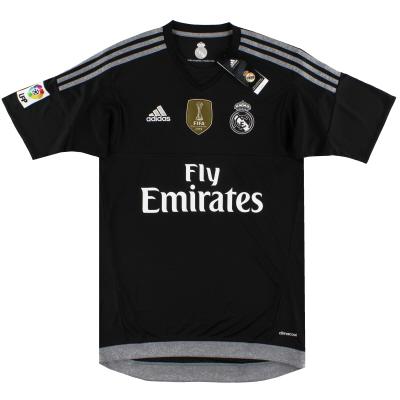 2015-16 Real Madrid adidas Goalkeeper Shirt *BNIB* S