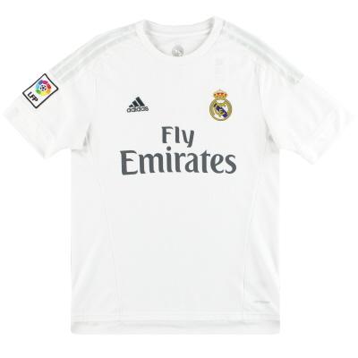 2015-16 Real Madrid adidas Home Shirt M
