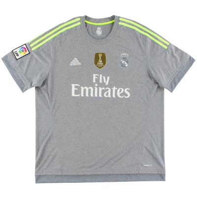 2015-16 Real Madrid Away Shirt *Mint* XL