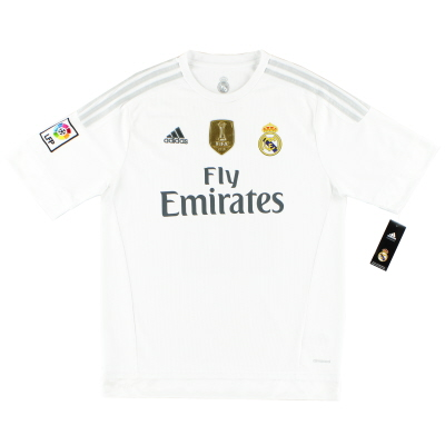 2015-16 Real Madrid Home Shirt *BNIB*