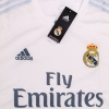 2015-16 Real Madrid Home Shirt L/S *BNIB*
