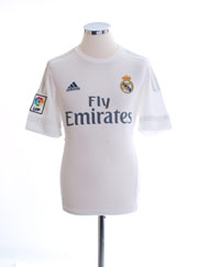 2015-16 Real Madrid Home Shirt M