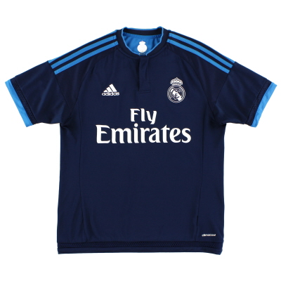 2015-16 Real Madrid adidas Third Shirt S