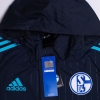 2015-16 Schalke adidas Player Issue Rain Jacket *BNIB*