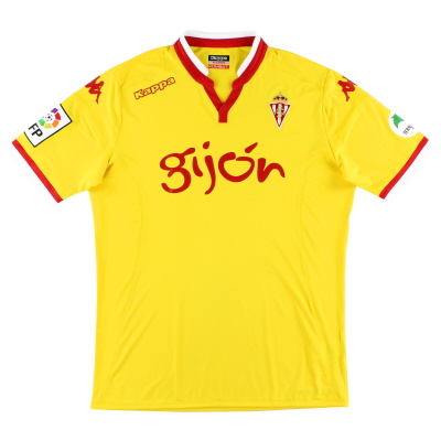 2015-16 Sporting Gijon Kombat Third Shirt