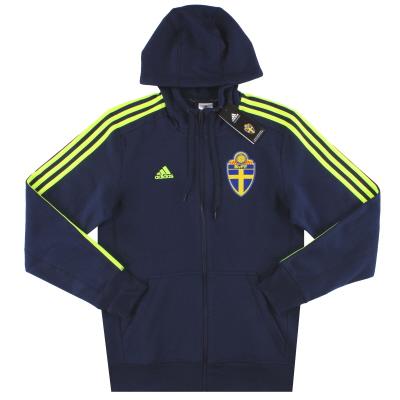 2015-16 Sweden adidas Hooded Zip Top *BNIB* S