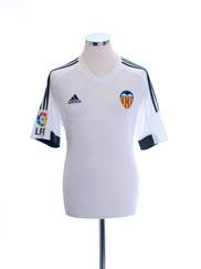2015-16 Valencia Home Shirt *Mint* M