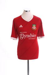 2015-16 Wrexham Home Shirt L.Boys