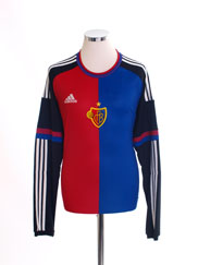 2015-17 FC Basel Player Issue Home Shirt L/S *BNIB*