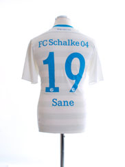 2015-17 Schalke Away Shirt Sane #19 M