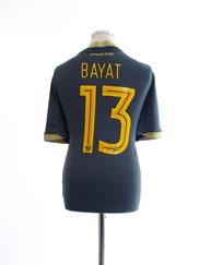 2016-17 Al-Ittihad Third Shirt Bayat #13 *Mint* L