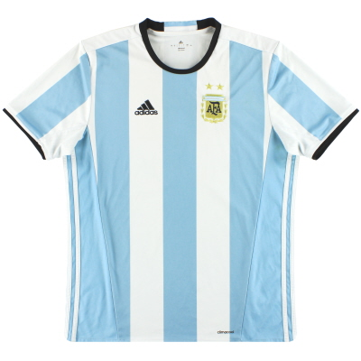 2016-17 Argentina adidas Home Shirt L