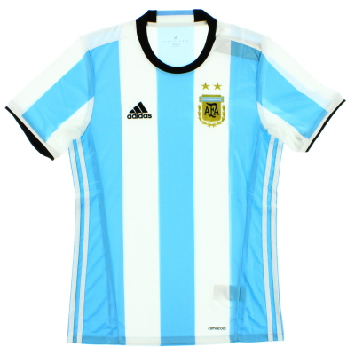 2016-17 Argentina Home Shirt *Mint* XL