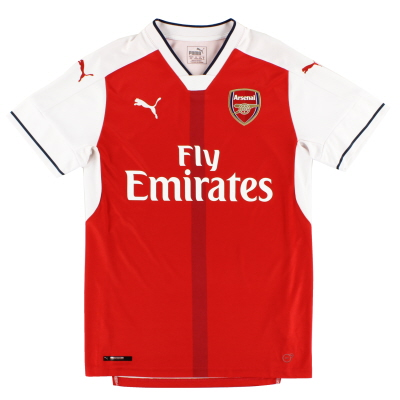 2016-17 Arsenal Home Shirt S