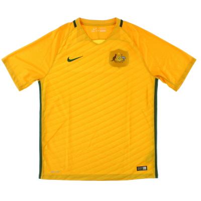 2016-17 Australia Home Shirt L