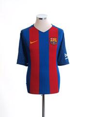 2016-17 Barcelona Home Shirt M