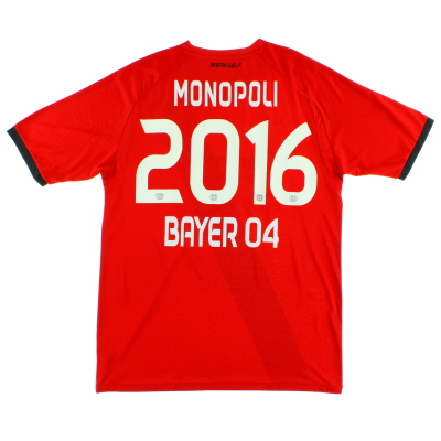 2016-17 Bayer Leverkusen Away Shirt *Mint* XL
